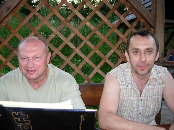 Встреча во Львове: Дуркин Лёня и Оленец Боря
