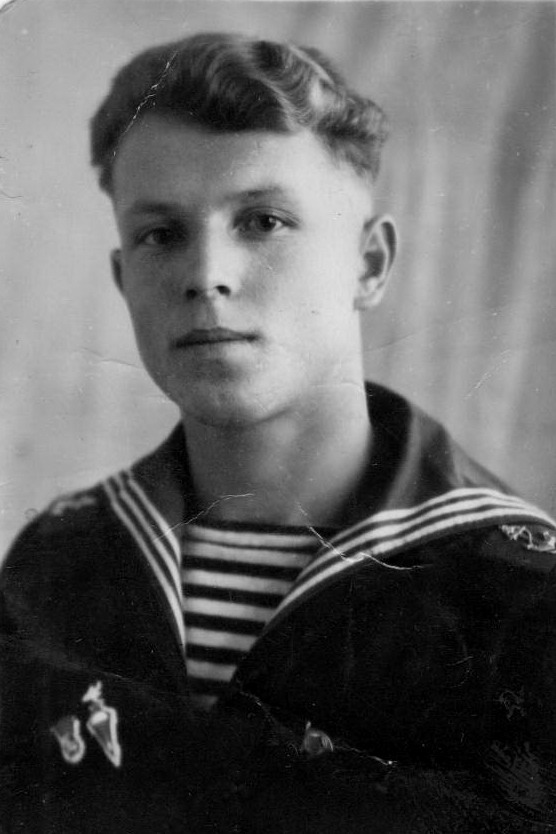 Курсант ВМАУС Мироненко Анатолий. 1953г.