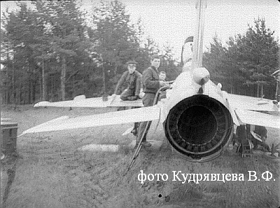 МиГ-21ПФС с системой СПО-3 с системой СПО-3