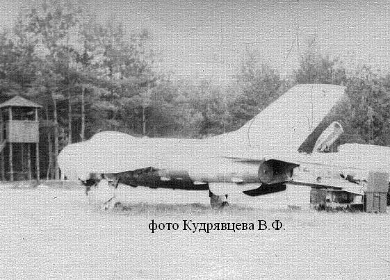 МиГ-19ПУ с дополнительными ЖРД