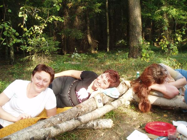 Девчонки притомились…