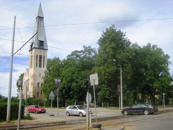 20.Один из «путей отхода» в систему. Церковь на Накотнес.