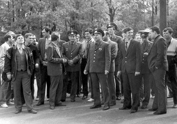 Встреча в 1989 году, Рига