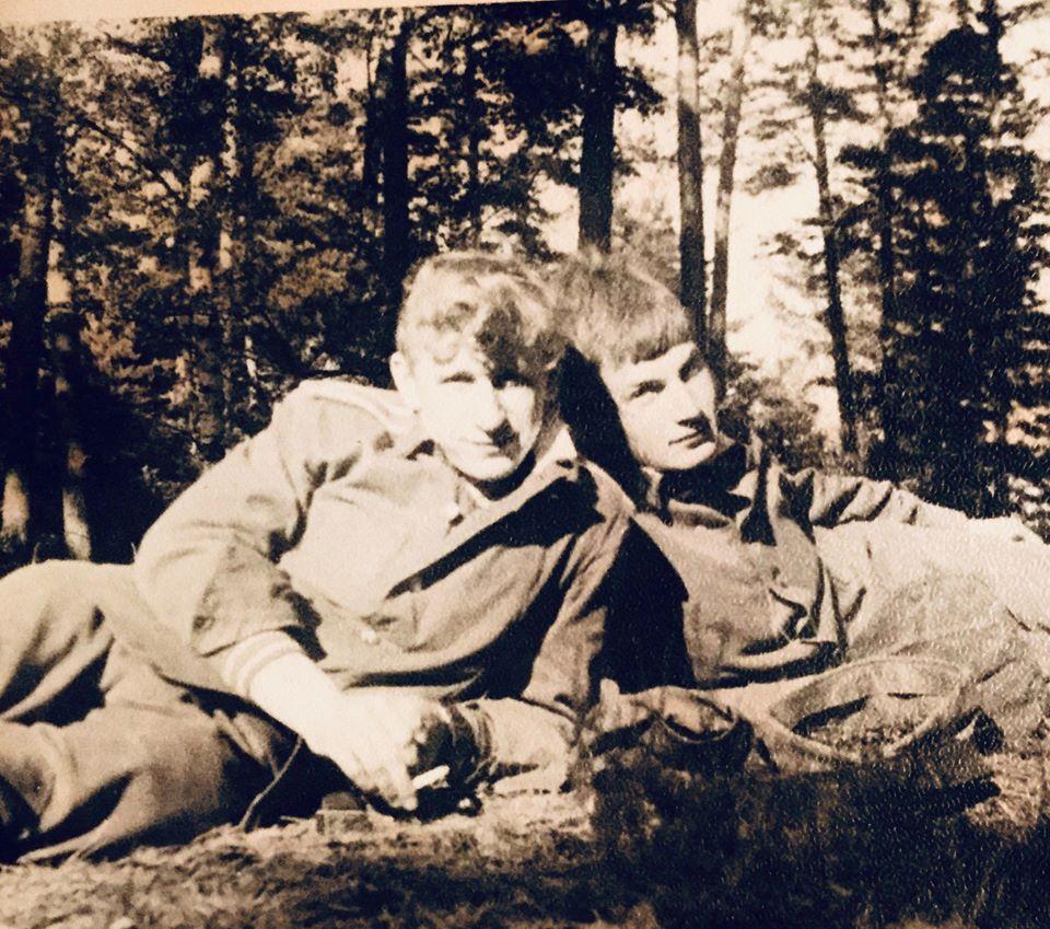 Светлая память Сергею Чернавину, рано нас покинул.... — с Чернавин Сергей в Летние лагеря, воинская практика, Латвия, Гауя.