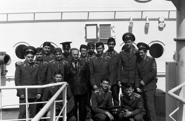 211 гр. с капитаном танкера Викторио Кодовильо