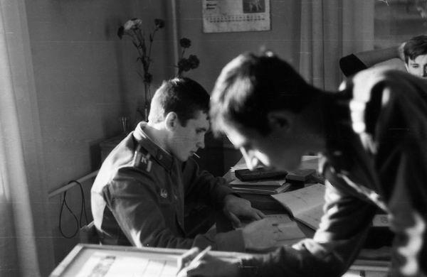 Два командира- Голосий А.С. и Герасимчук Ю.Н.