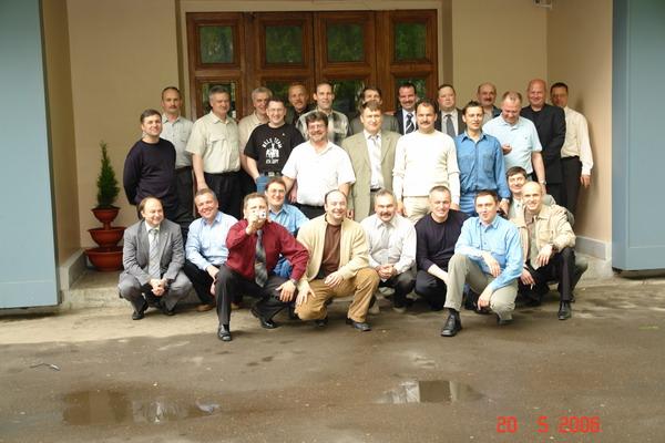 Встреча 20 мая 2006 года. 20 лет после училища!