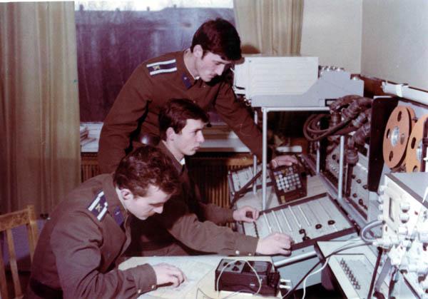Кафедра 26, курсанты выпуска АО 1982 г. С. Кучеренко, В. Ерёмин и (...)