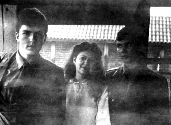 Культпоездка в Сигулду (Д.Шканакин, О. Хлебородов с супругой)