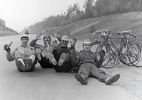 Первые 100 км пути- по суммарному количеству пальцев (смотреть вместе с фото Дворядкина А.)