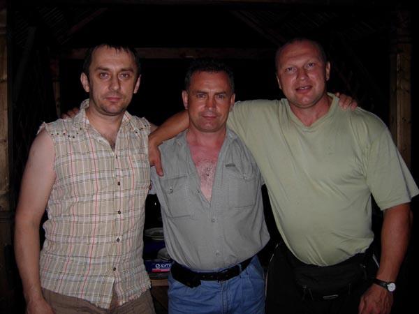 Встреча во Львове: Оленец Боря, Скибюк Юра, Дуркин Лёня