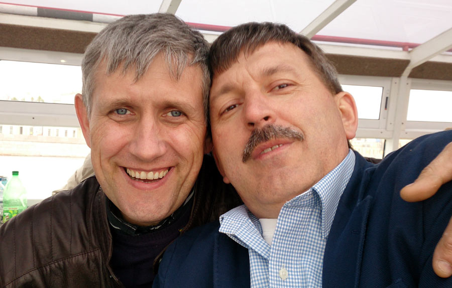 Серега Валин и Юра Итченко