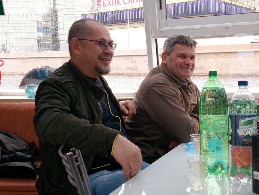 Игорь Плиев и Толик Сосов