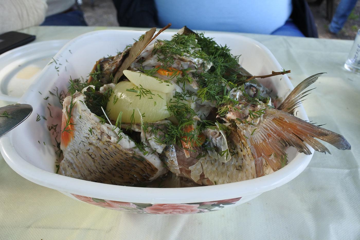Рыба из ухи