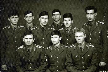 Ковтун, Пащенко, Ремизов, Еманов, Клюев, Гольдварг, внизу: Букреев, Сосов, Боронин