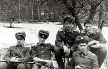 Турченко, (забыл имя…), Стародумов, Плиев, Безганс