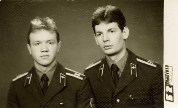 Дима Боронин и Вовка Грачев