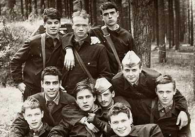 «Скулты» 1987 год. Вехний ряд: Дуденко, Боонин, Яманов,  внизу: Шипулин, Гольдварг, Стародумов, Кришталь, Швецов, Петрыко, Бородулин