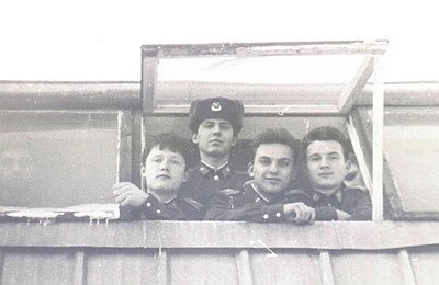 Шершень Сергей (гершун), Константинов Олег, Котляр Сергей (кошкин), Мостяев Леша (слон)