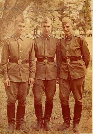 Первокурсники, 1984 год, 214 группа, Юрка Кравцов, Леха Ремизов, Володя Рябов