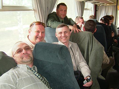 Едем в автобусе в Монино: