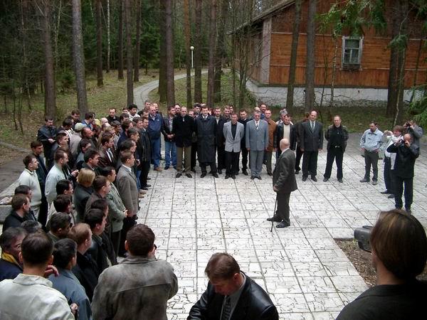 1 Мая, Подмосковье, генерал Дождиков принимае парад