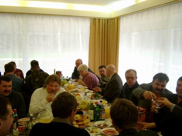 1 Мая, Подмосковье, начальники во главе праздничного стола