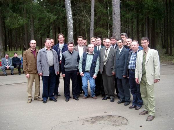 1 Мая, Подмосковье, генерал Дождиков вместе со 153 группой.