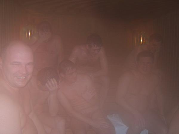В бане все равны