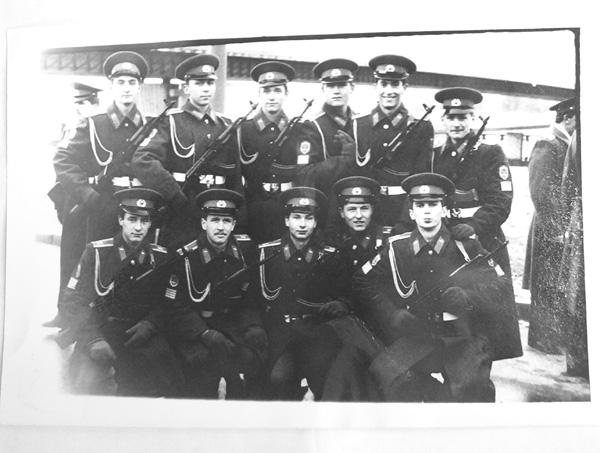 1985-1990гг АО 2 факультет 1-я учебная группа