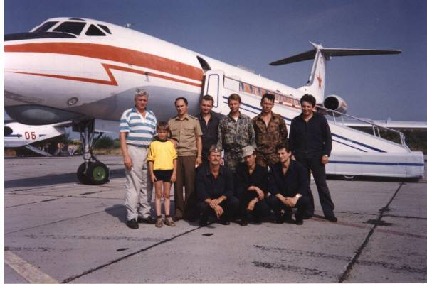 Перед сдачей самолета (вывод из Латвии)