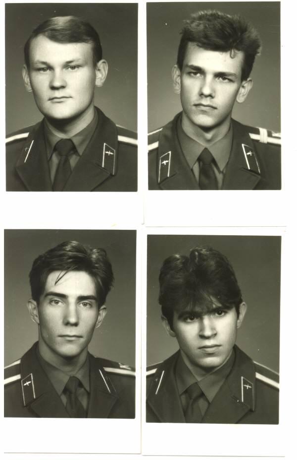 155 группа 1990г Барабанов,Козырев,Шаблинов и Елистратов