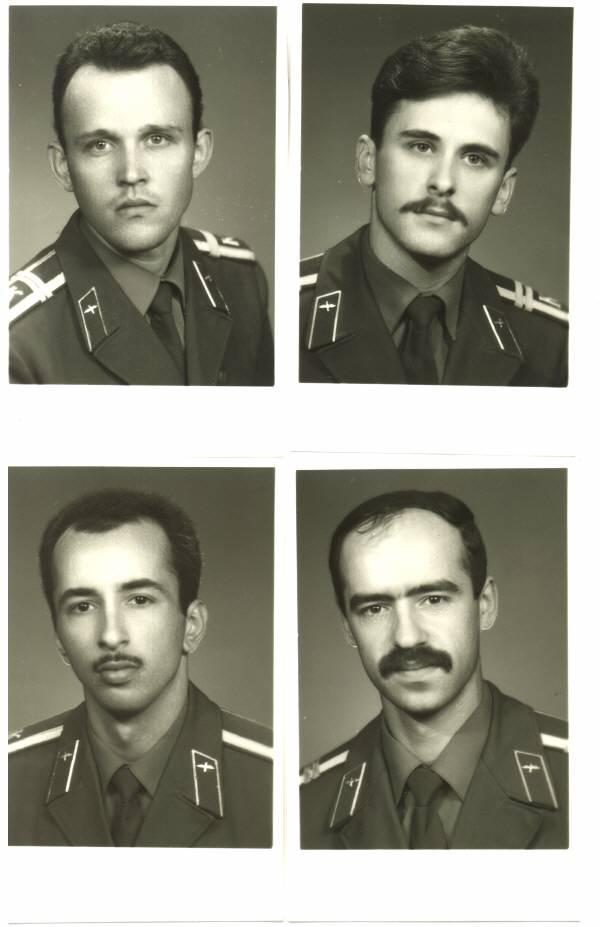 155 группа 1990г Васильев, Марычев, Мамедов и Гудзь