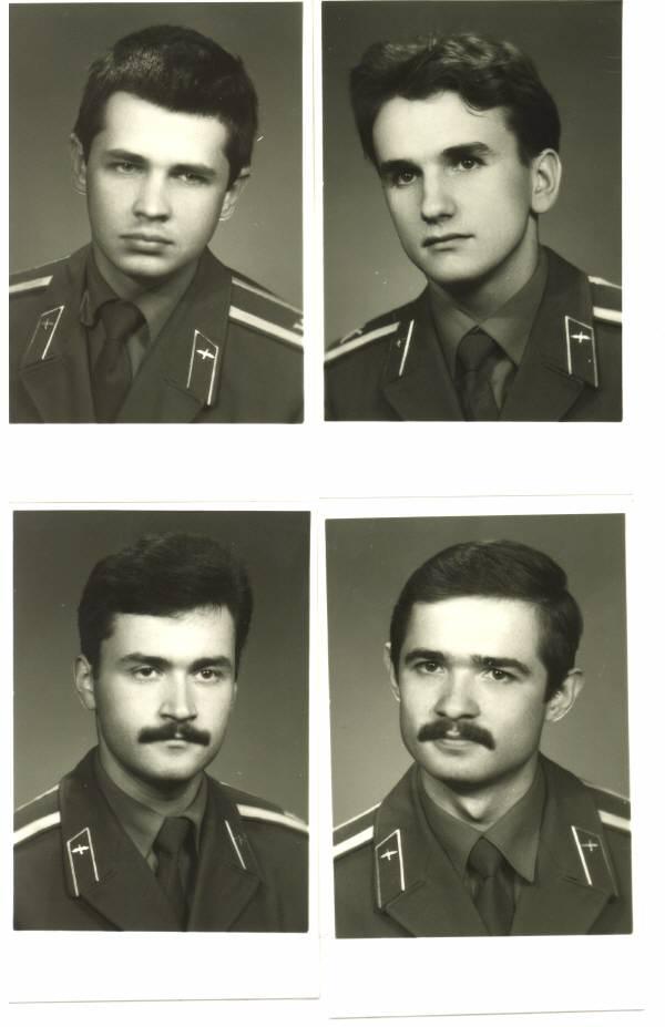 155 группа 1990г Волокитин,Горячёв,Хомутов и Тесик