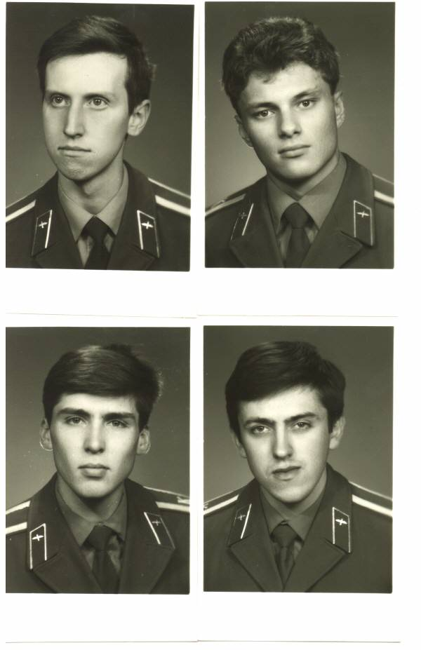 155 группа 1990г Исаев, Кушнырёв, Сетдеков и Маслов