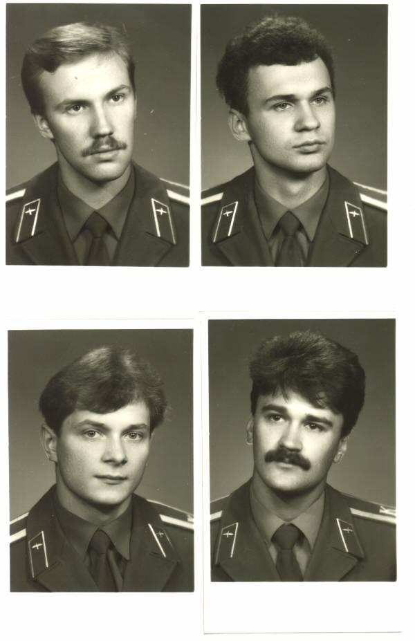 155 группа 1990г Семёнов, Парфиненко, Шпеко и Кошельников