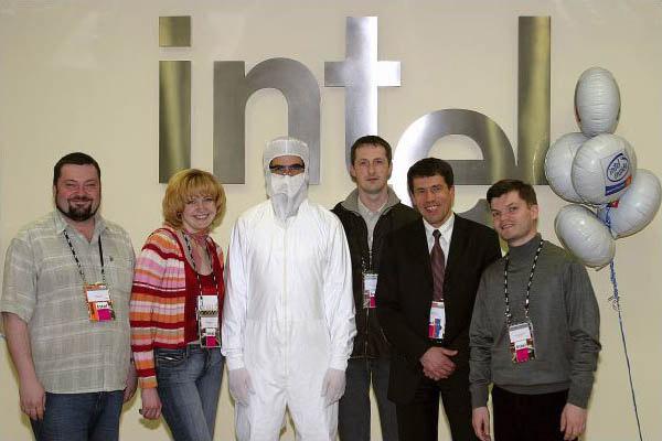 Фабрика Интел - Дублин 2005
