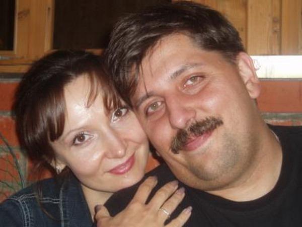 Новиков с супругой