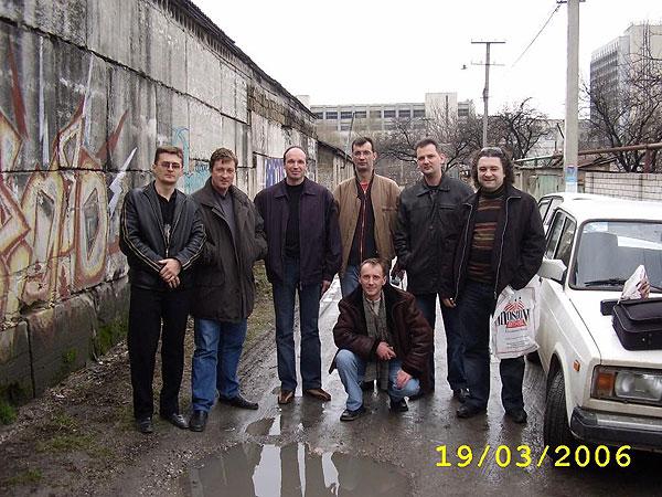 Встреча 6-й группы в Симферополе в марте 2006 года