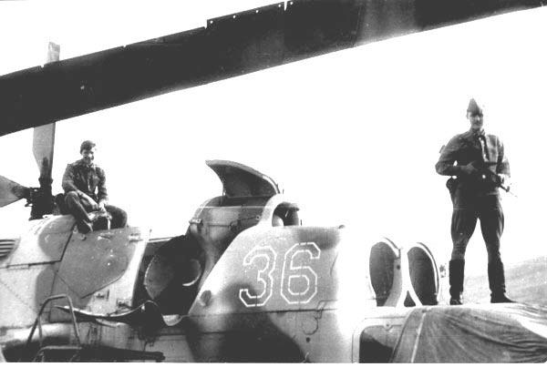 В карауле на Скулте 1990 г.