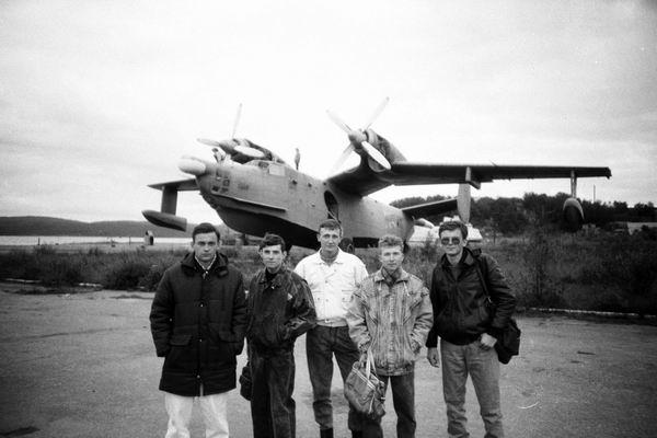 В Сафоново в музее авиации.