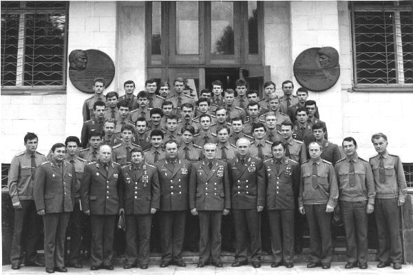 Выпуск нашего училища (а также Киевского, Тамбовского) при прибытии в Центр Подготовки Космонавтов в 1988 г.