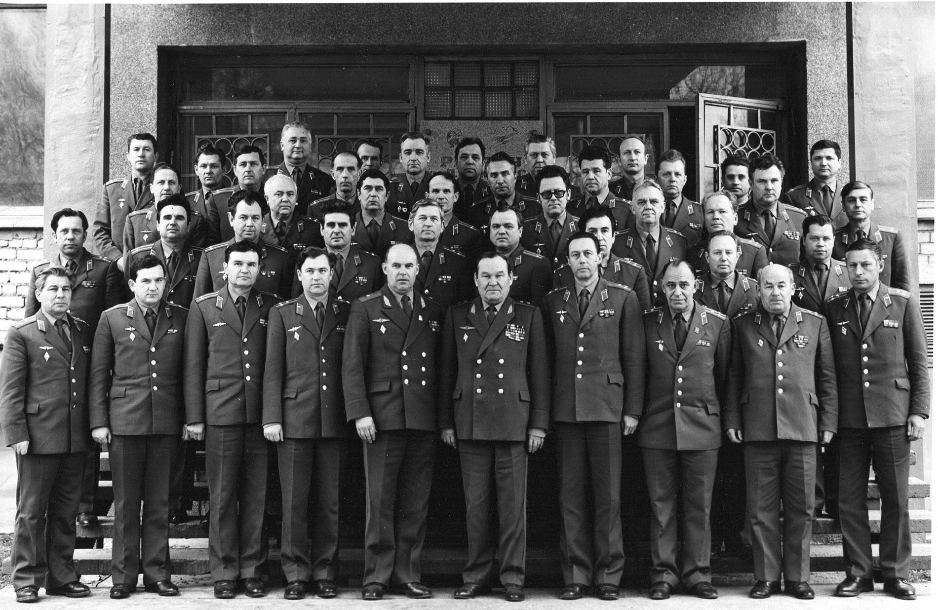 1-3 февраля 83г. Кустовой сбор руководителей ИАС объединений и соединений
