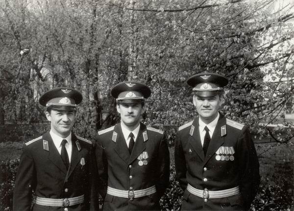 Осень 1988 г. 1. Букин, 2. Лейченко, 3. Смирнов