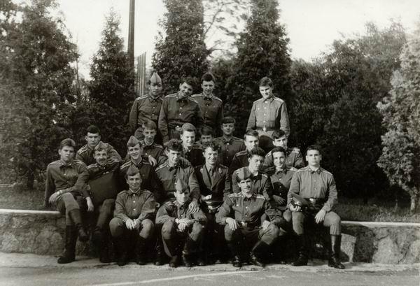 Август 1988г. 122 группа. Ст. с-т Войцеховский