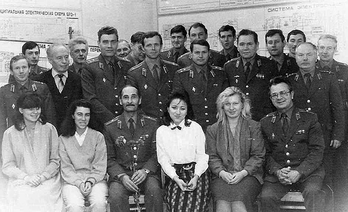Коллектив кафедры № 22. 1987 год.