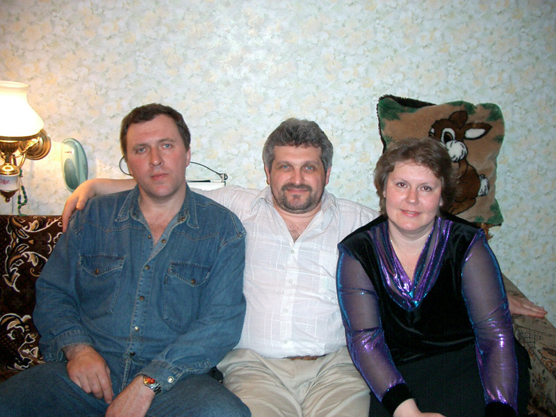 Чеслав Стрижко и Николай Клюрфельд