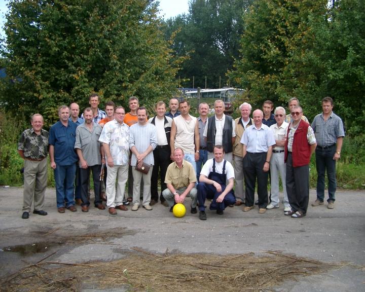 ДЕНЬ АВИАЦИИ 2004 года на территории РВВАИУ