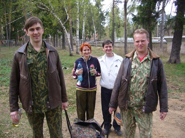 Волович, Наталья( жена Пасюкова), Скворцов и Дремин